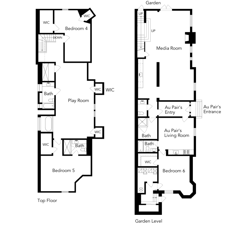 Sutter Street Top and Bottom Levels